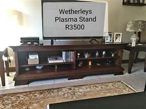 Wetherleys plasma stand