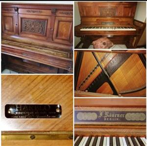 F. Rosener Berlin Upright Piano