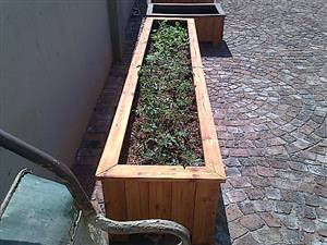 Planter box Shenaz series 3000 Treated