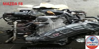 MAZDA CAPELLA/626/BONGO 1.8L 12V FWD engines for sale