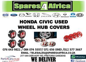 HONDA CIVIC USED WHEEL HUB COVERS FOR SALE