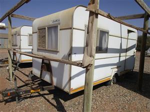 Jurgens 48 Contractor Caravan - ON AUCTION