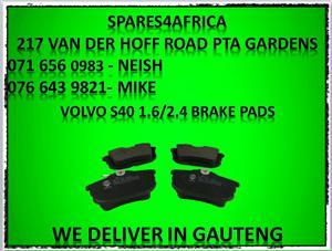 Volvo S40 1.6/2.4 Brake Pads For Sale