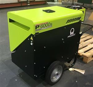 Pramac 5.9kVA 5.4kw Portable Diesel Generator 230V 1 Phase