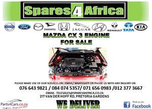 MAZDA CX3 ENGINE