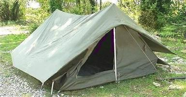 French Army Troop Tent