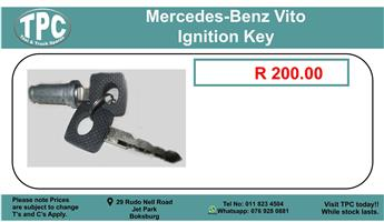 Mercedes-Benz Vito Ignition Key For Sale.