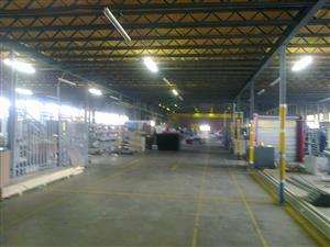 2615m2 factory to let in Driehoek, Germiston