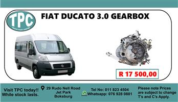 Fiat Ducato 3.0 Gearbox - For Sale at TPC