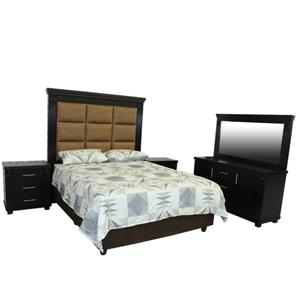 5 PIECE CASSIDY BEDROOM SUITE BRAND NEW FOR ONLY R13 999!!!!