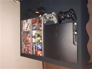 250gig Ps3 console plus 2 remote and games