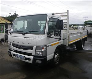 2015 Mitsubishi Fuso FE8-150TF AMT 4×2 5 ton used drop side - AA3006
