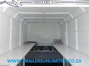 CATERING UNITS WITH EDGED ROOF.