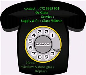 Glass Fitting / Repair Services