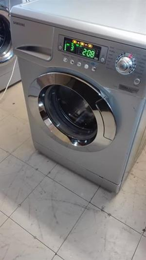 9kgs Silver Samsung front loader washing machine