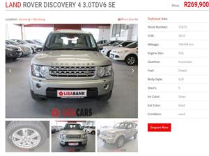 2010 Land Rover Discovery 4 3.0TDV6 HSE