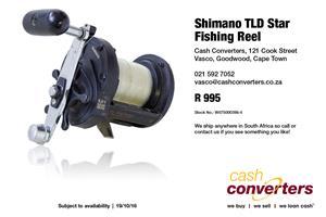 Shimano TLD Star Fishing Reel