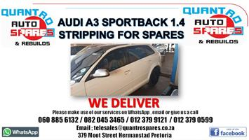 Audi A3 Sportback 1.4 cax 2011 stripping for spares