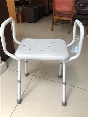 Bathroom / Shower chair - for the elderly or infirm - ideal for recovery from an op