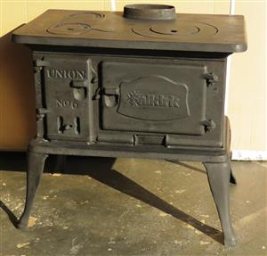 Union 6 Coal Stove A-Grade Fully Refurbished