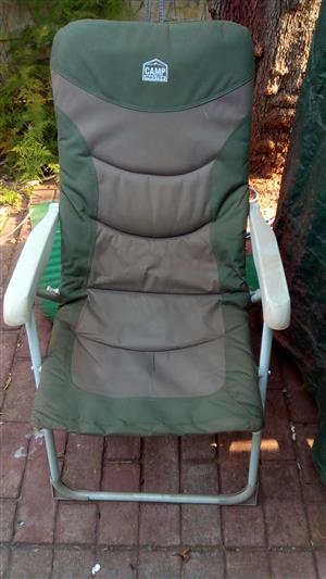 Camp Master Reclining Chair X 2