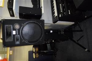 C-Tech NDE1X15 Speaker on Stand