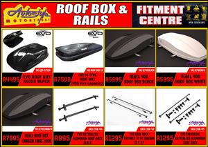 Roof storage boxes