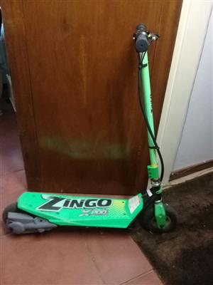 Zingo Scooter for sale R2000.00.  Hardly been used.    Contact Errol 0748014068