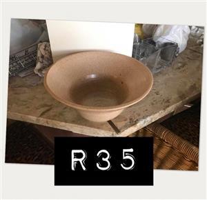 Beige bowl for sale