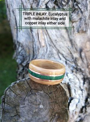 HANDCRAFTED WOODEN RINGS - 25% Off Christmas Special