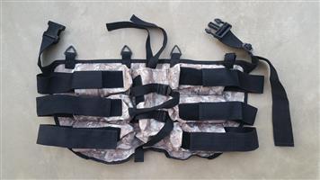 Paintball waist belt