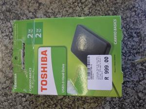 2TB Toshiba Hard Drive