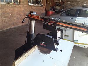 Radial arm saw, used for sale  Pretoria - Pretoria West