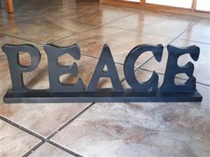 Hout peace 16x55