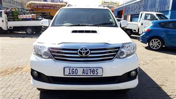 2012 Toyota Fortuner 3.0D 4D automatic