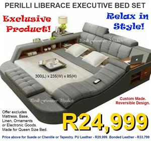 PERILLI LIBERACE Executive Bed Set