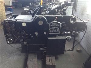 Heidlelberg Printing machine
