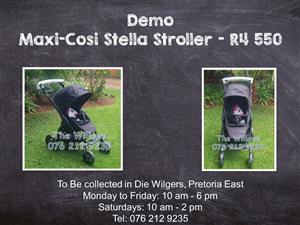 Demo  Bebeconfort Stella Stroller