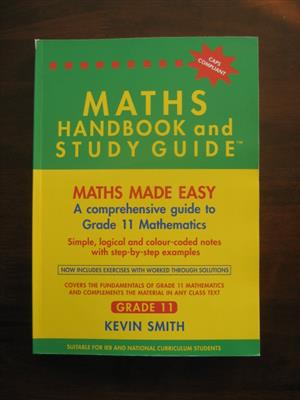 Maths Handbook and Study Guide Grade 11 for sale  Milnerton