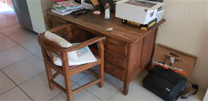 Excellent wood umbia furniture, tables, chairs, cabinets, wooden bench