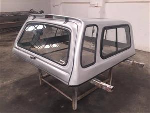 ** Isuzu Double Cab 1998 - 2003 - Silver Beekman Canopy **