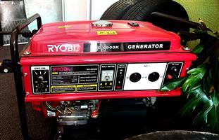 RYOBI GENERATOR 4 STROKE 5.5KW