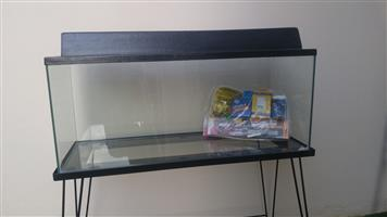 FISH TANK, 100 Litre with STAND & CANNOPY