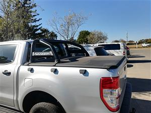 Ford Ranger T6 /7 double cab roll bar and clip on Toni for sale