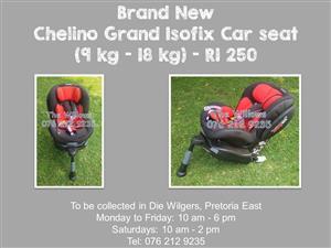 Brand New Chelino Grand Isofix Car seat (9 kg - 18 kg)