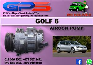 VW Golf 6 Aircon Pump Used Part for Sale