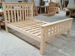 Brand new solid pine double size Base