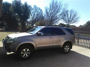 2007 Toyota Fortuner 3.0D 4D 4x4