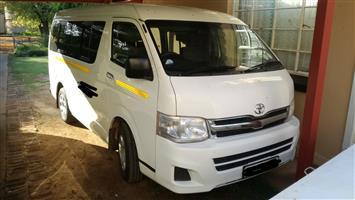2012 Toyota Quantum 2.7 GL 10 seater bus