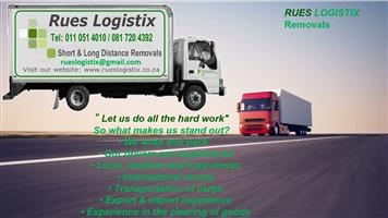 Rues Logistix Removals In Gauteng